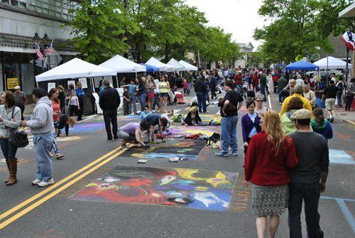 2021 Mosaic Street Painting Festival