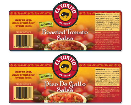 Salsa Labels