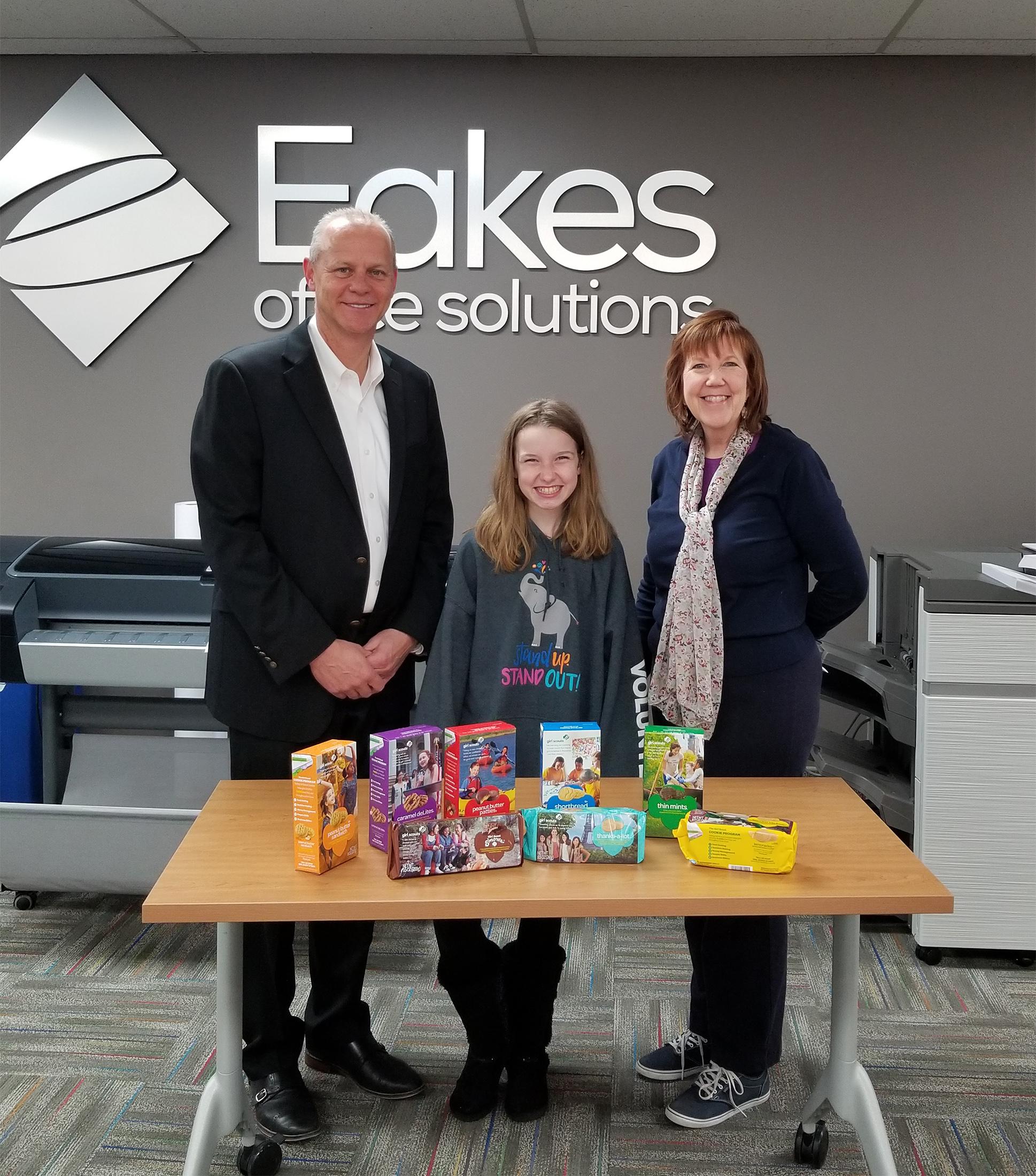 Girl Scouts Spirit of Nebraska Thanks Eakes