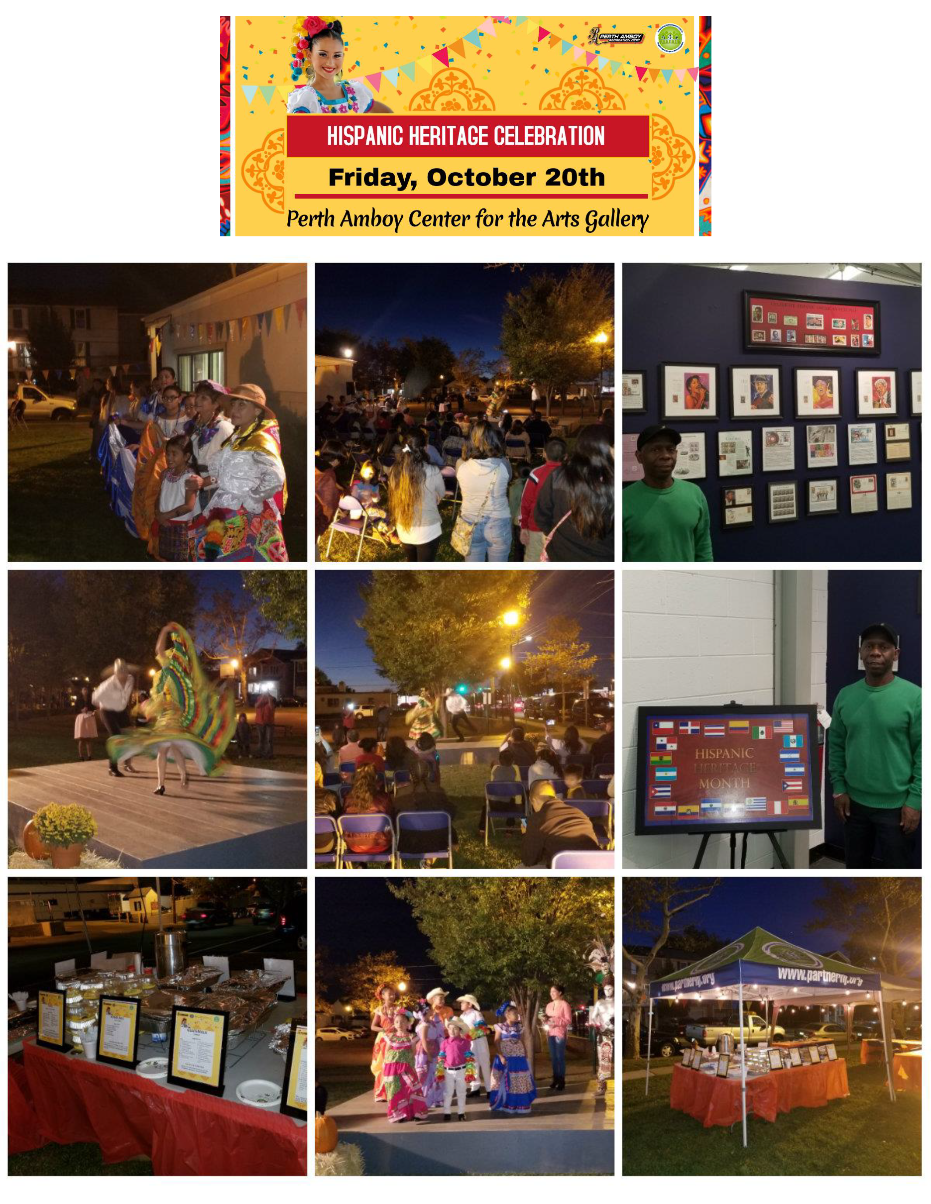 Hispanic Heritage Celebration, October 2017