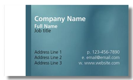 Model #001: Kwik Kopy Design and Print Centre Halifax Business Cards