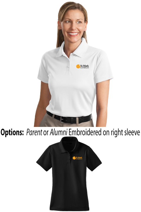Embroidered - Parent or Alumni Polo - Ladies