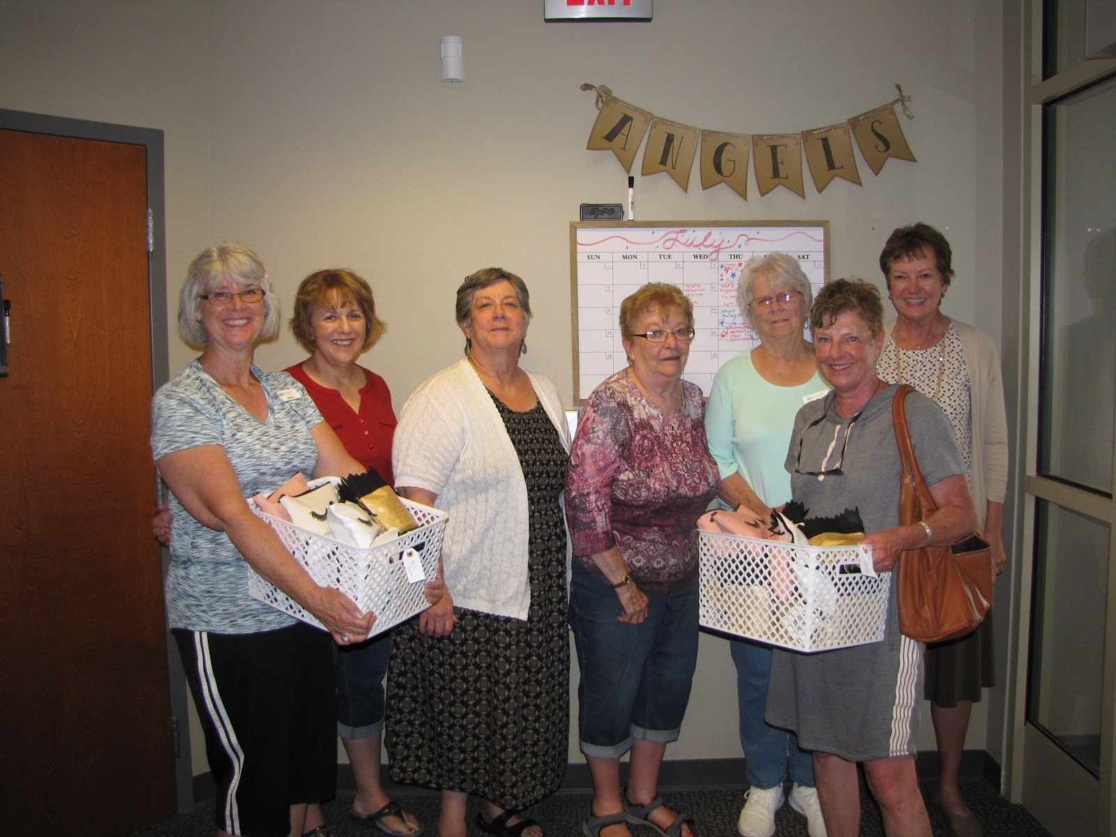 Angels with Thrive Baskets