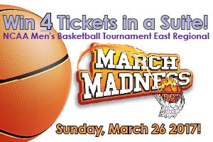 Win 4 Tickets in a Suite for March Madness at MSG