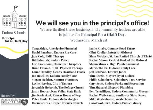 2017 Guest Principals