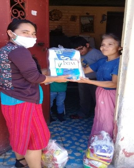 Good Shepherd Assistance Program Helps Those Affected by COVID-19 in Huehuetenango