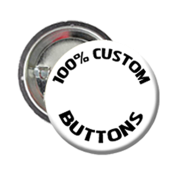 "Custom 3"" Buttons - Pin Back (Clone)"