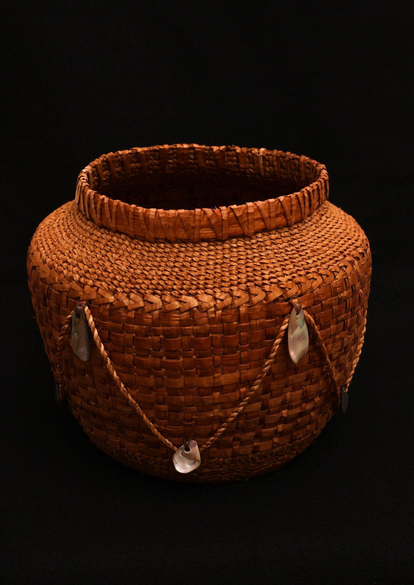 """Red Cedar Basket"" - Mimi Kotlarov"
