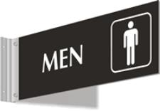 Corridor - Men w/Symbol