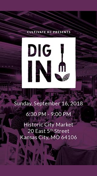 Dig In, KC! logo