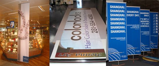 Vinyl and Fabric Banners