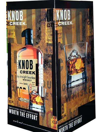 Knob Creek Display Base