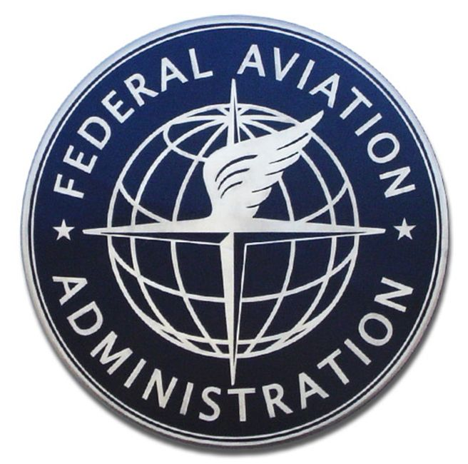 MH9040 - Precision Tooled Federal Aviation Administration Plaque, 2.5-D