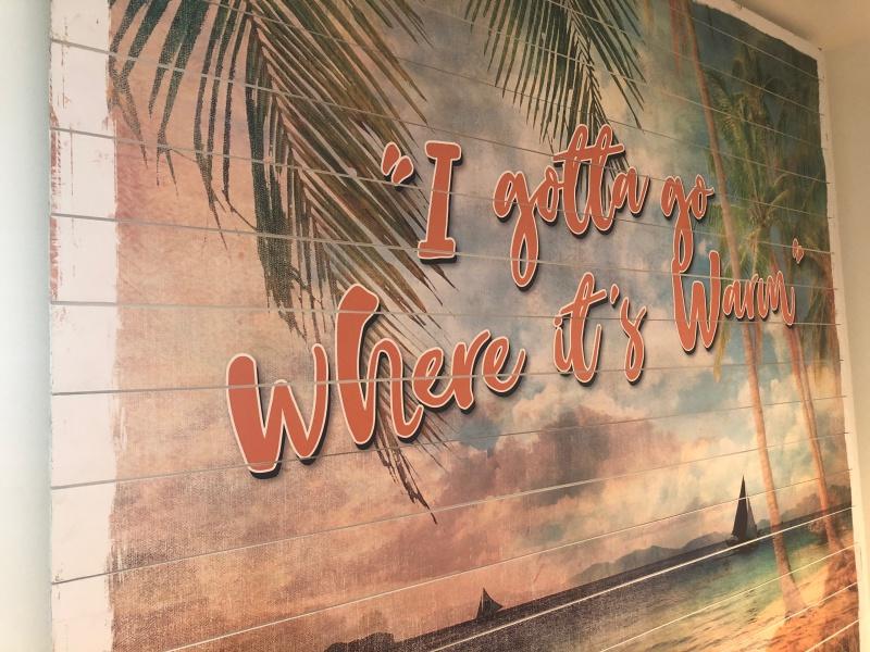 Interior Wall Art For Margaritaville Hotel Orlando