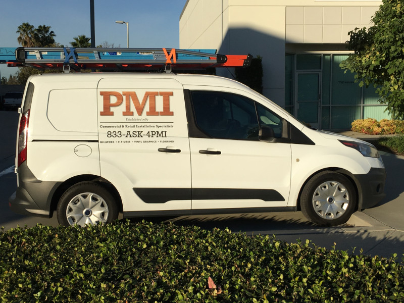 Vinyl decals and lettering for fleets in Anaheim CA