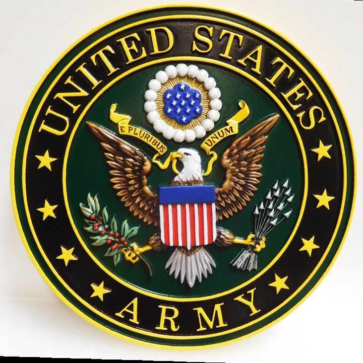 M2051 - Wall plaque of the Emblem  for the US Army (Gallery 31)