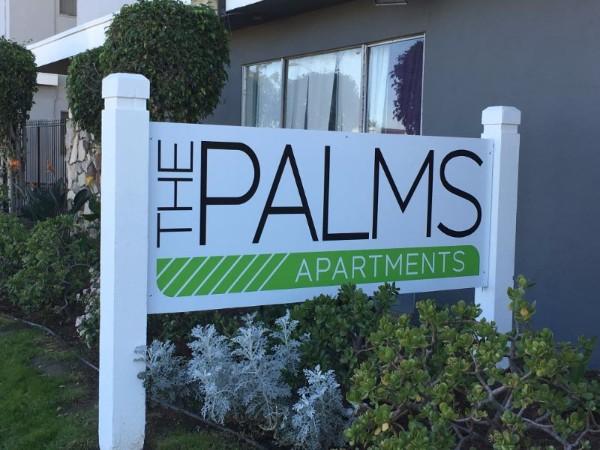 Apartment Complex Signage Makeover in Anaheim CA