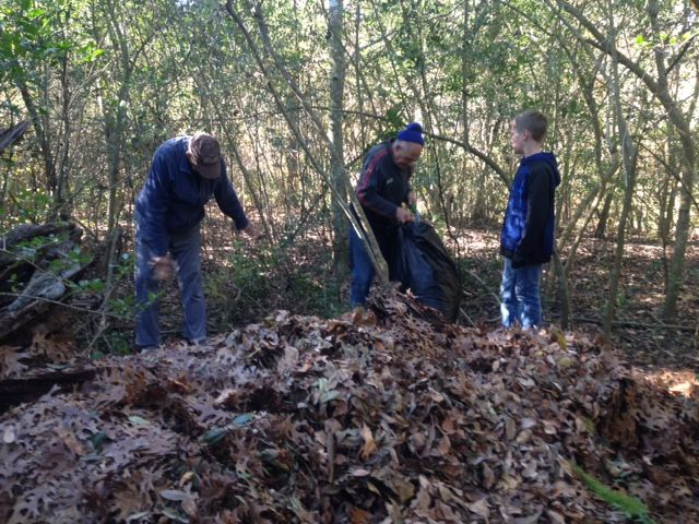 Leaf Litter Project at Edith Moore