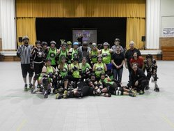 Bruizin' Bettys Roller Derby donates to OGT