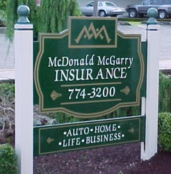 McDonald & McGarry  Post Signs