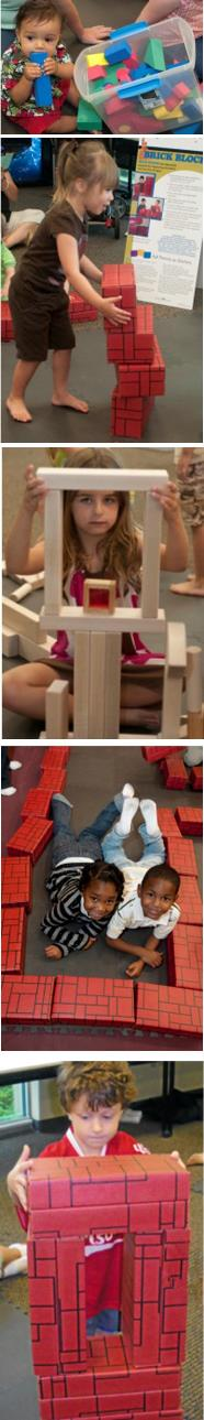 Five Stages of Block Play