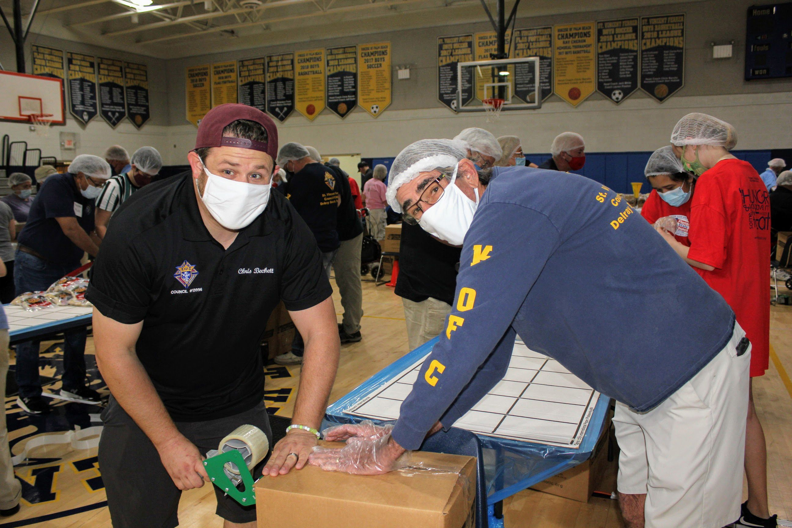 Knights pack more than 40,000 meals for hungry in Guatemala