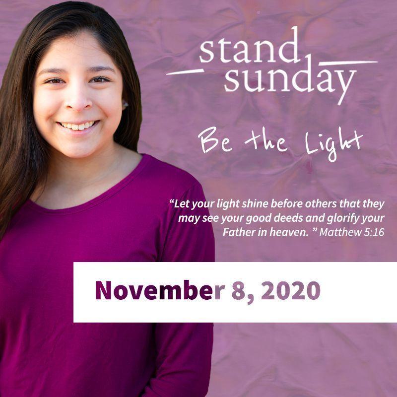 Stand Sunday 2020