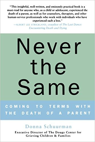 Never the Same: Coming to Terms With the Death of a Parent