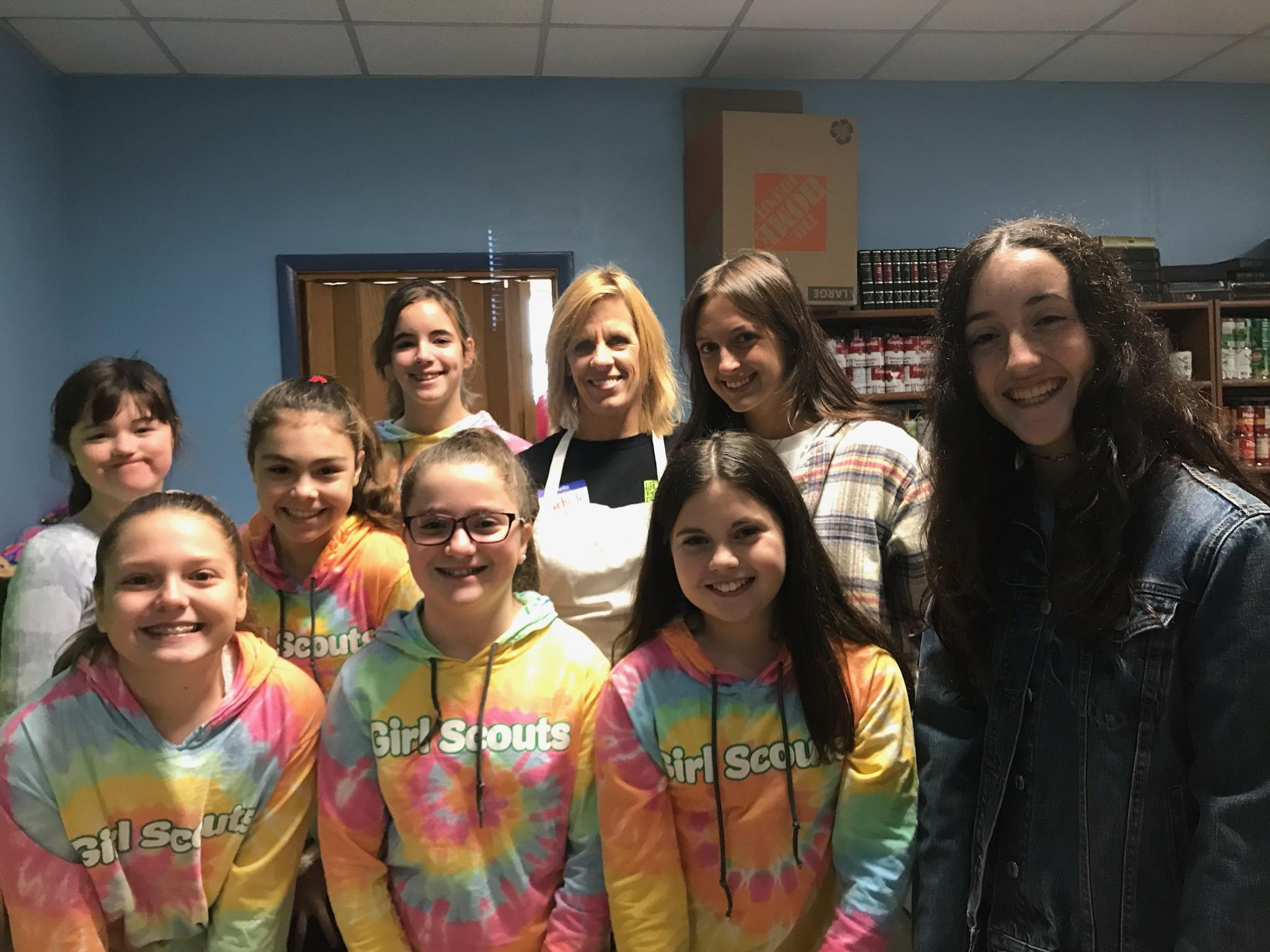 CBH Care, Oradell Girl Scout Troop Donate 15 Bags of Clothing at 30th Annual Caring Community Dinner
