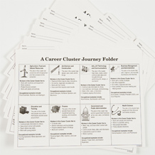 Career Cluster™ Journey Folder Refill Package of 25
