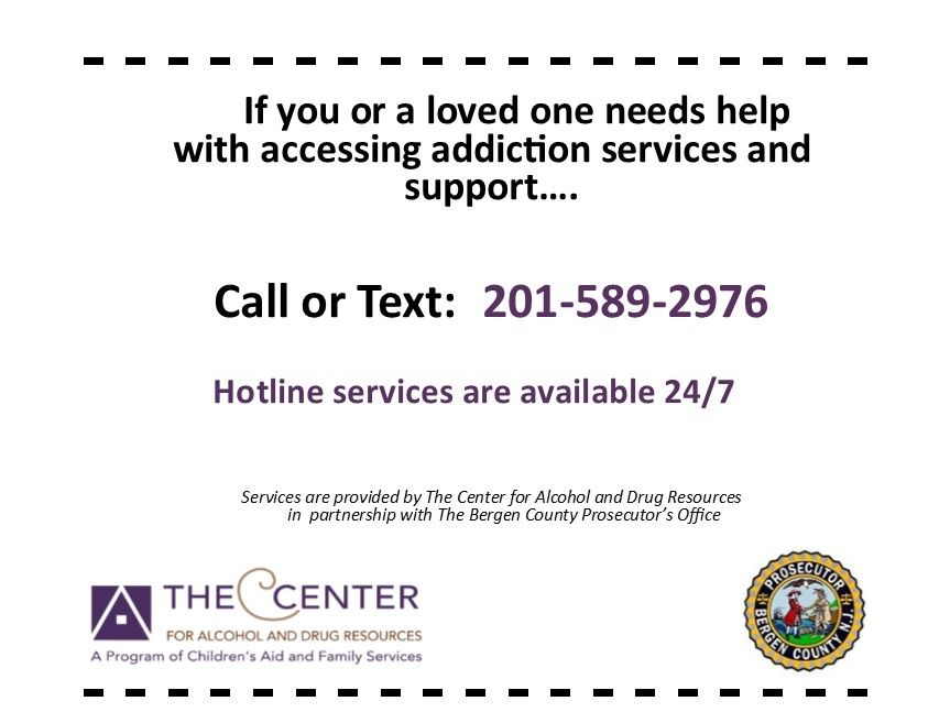 24/7 Recovery Hotline Now Open!