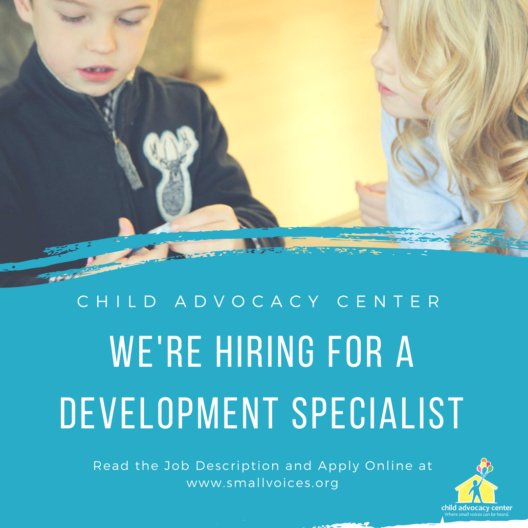 We're hiring for a Development Specialist - Grant Writer