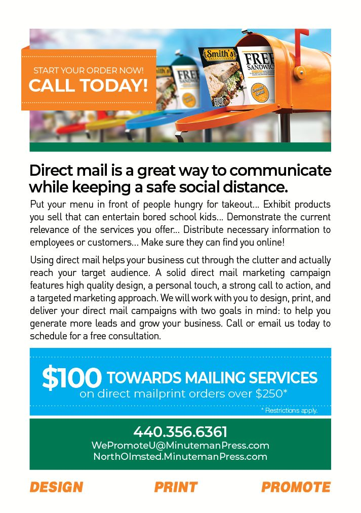 Stay in Contact with Direct Mail