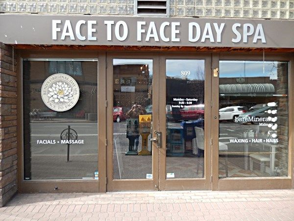 Window graphics for Bend OR and Central OR