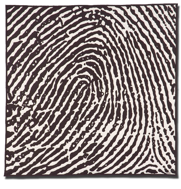 Fingerprint Series #6, Detail Oriented, Made by Barbara Watler, Made in Hollywood, Florida, United States, Dated 1998-1999, IQSC 2005.030.0002