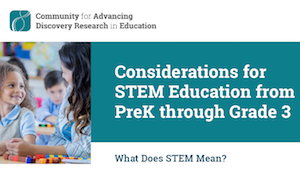 Early Childhood STEM PreK-3