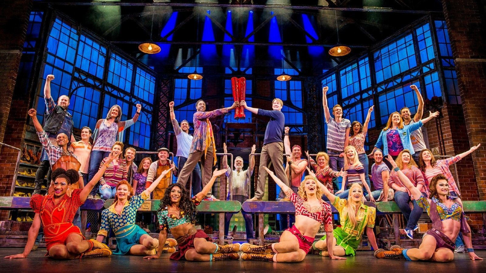 The Barclay hosts the award-winning Kinky Boots online