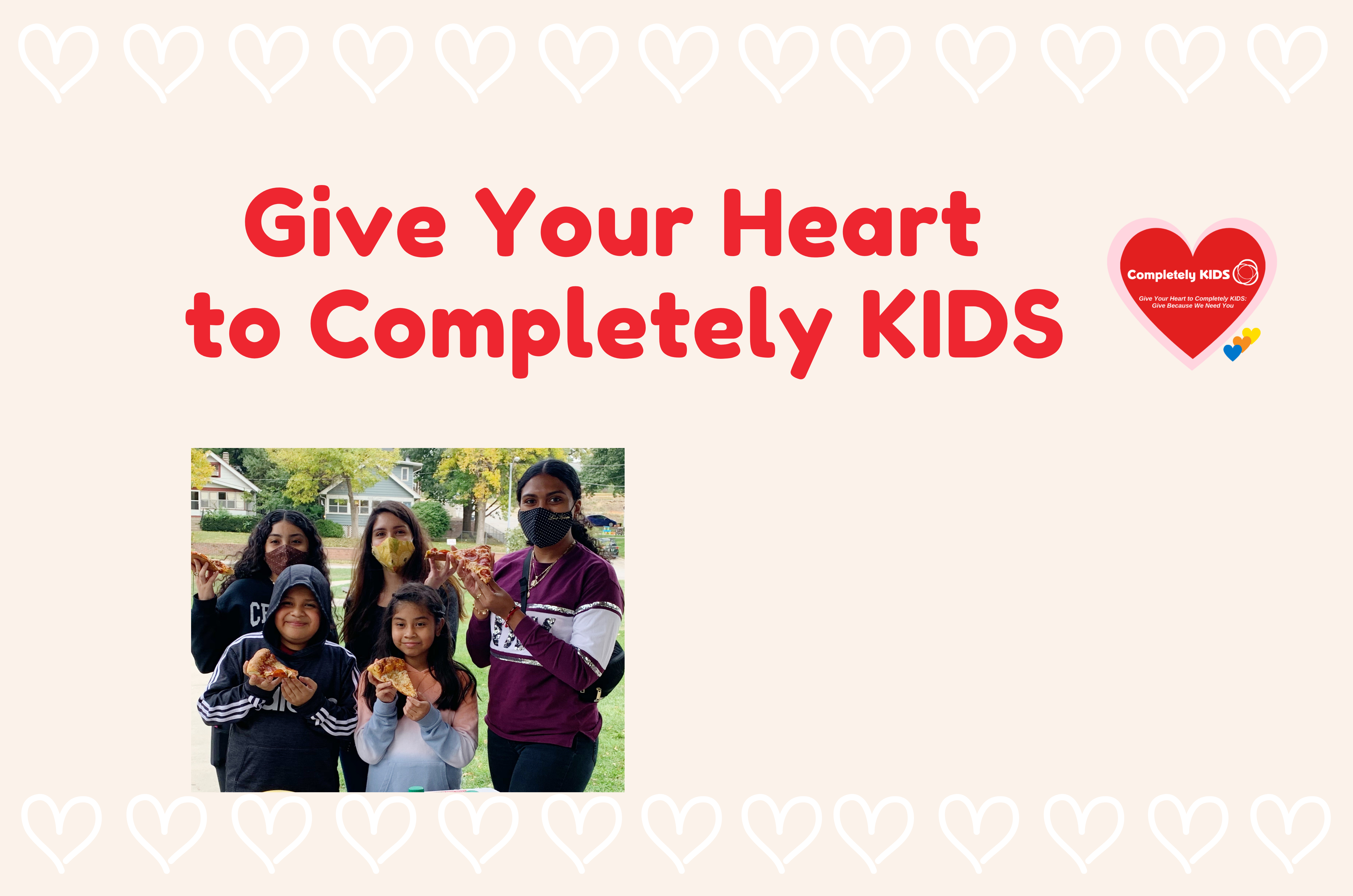 We Need Your Heart!