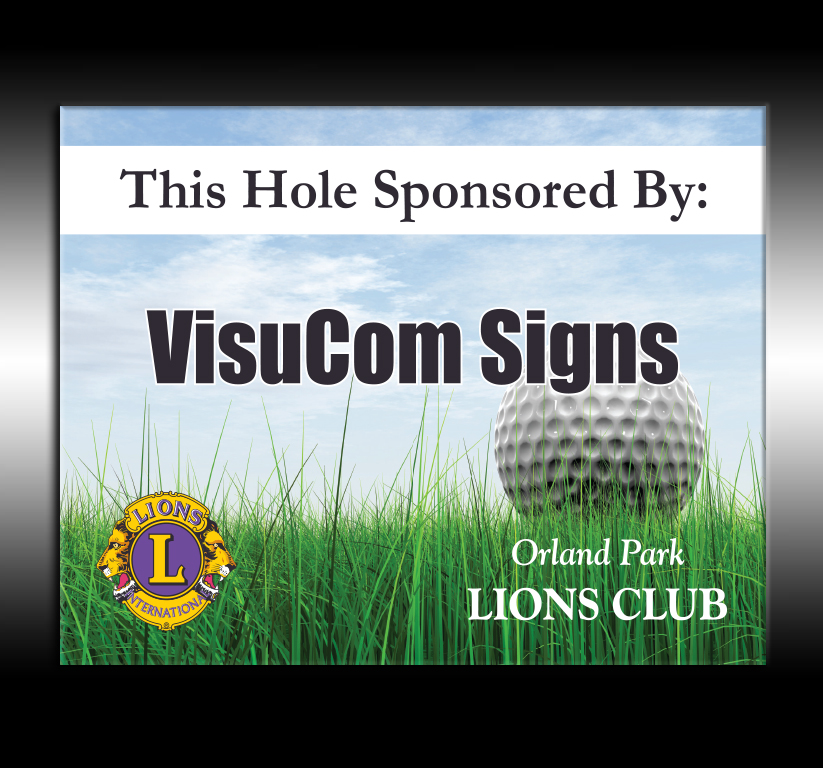 Lions Club Hole Sponsor