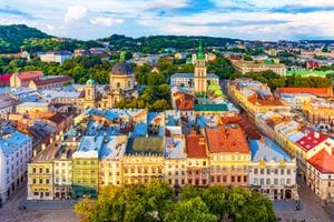 Go west to Lviv, visitor to Ukraine