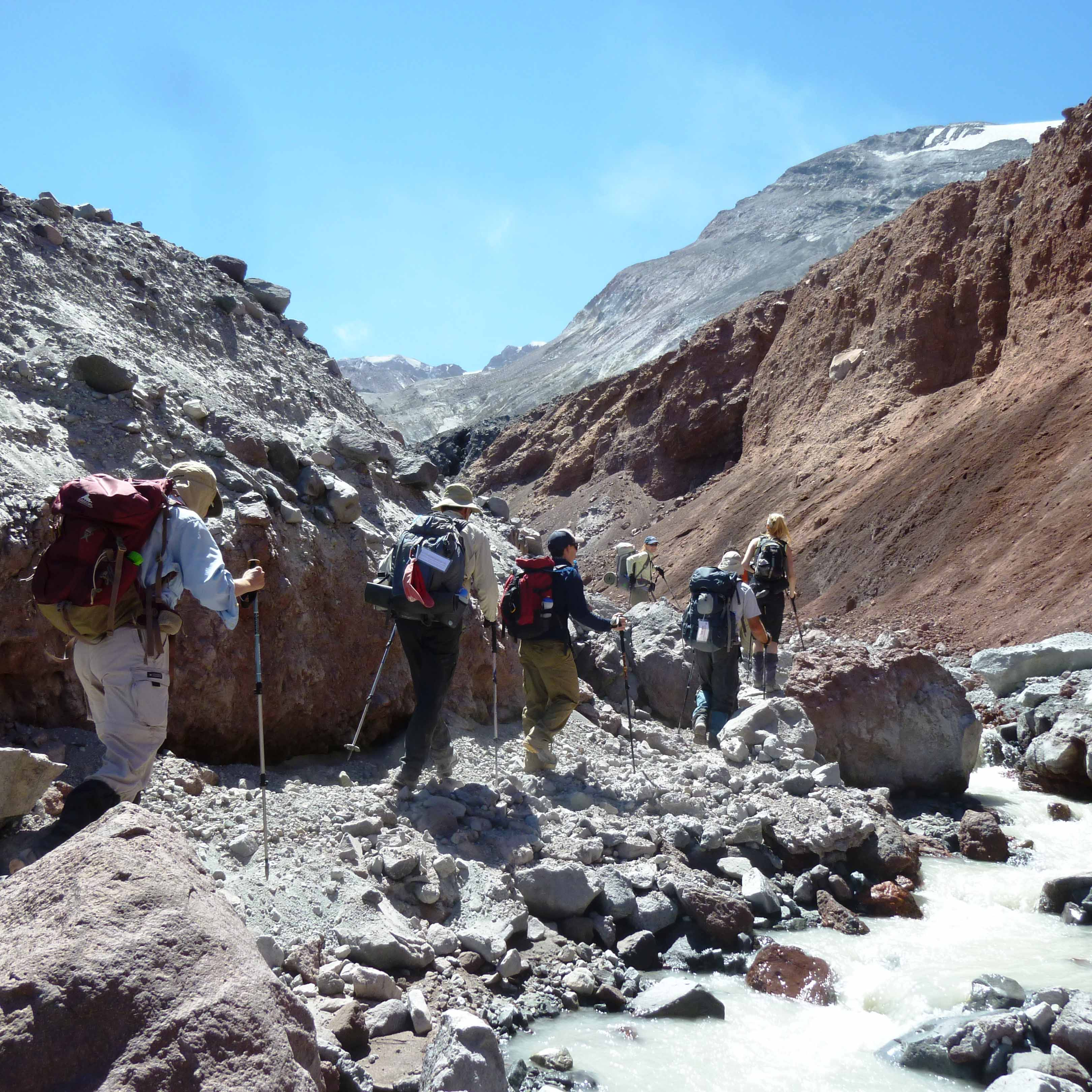 Into the Crater Hikes