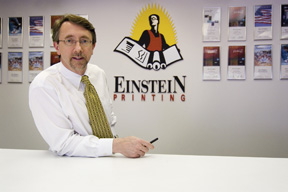 Keith Einstein President Einstein Printing North dallas