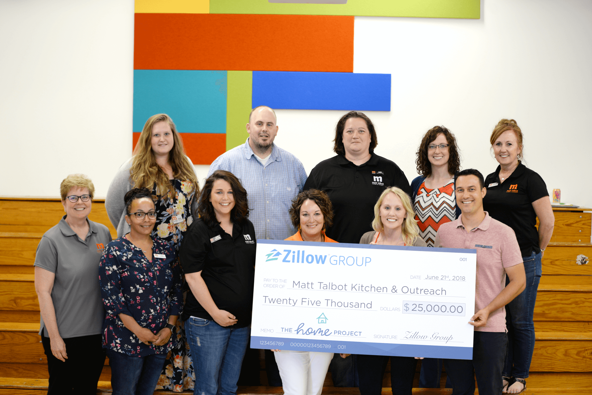 Matt Talbot Kitchen & Outreach Selected as Community Partner with Zillow Group