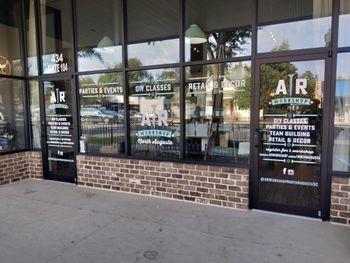AR Workshops Window Vinyl