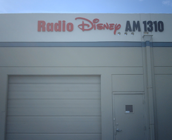 Exterior Dimensional Lettering