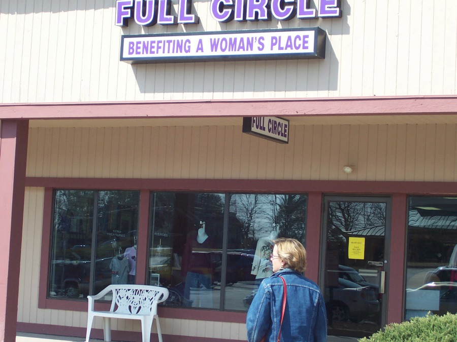 AWP's thrift store, Full Circle, in Chalfont, PA.