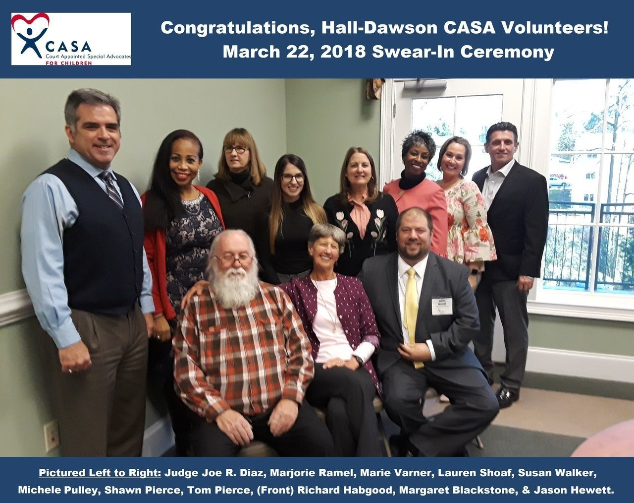 We are saddened to share with you the passing of CASA Volunteer Richard Habgood.