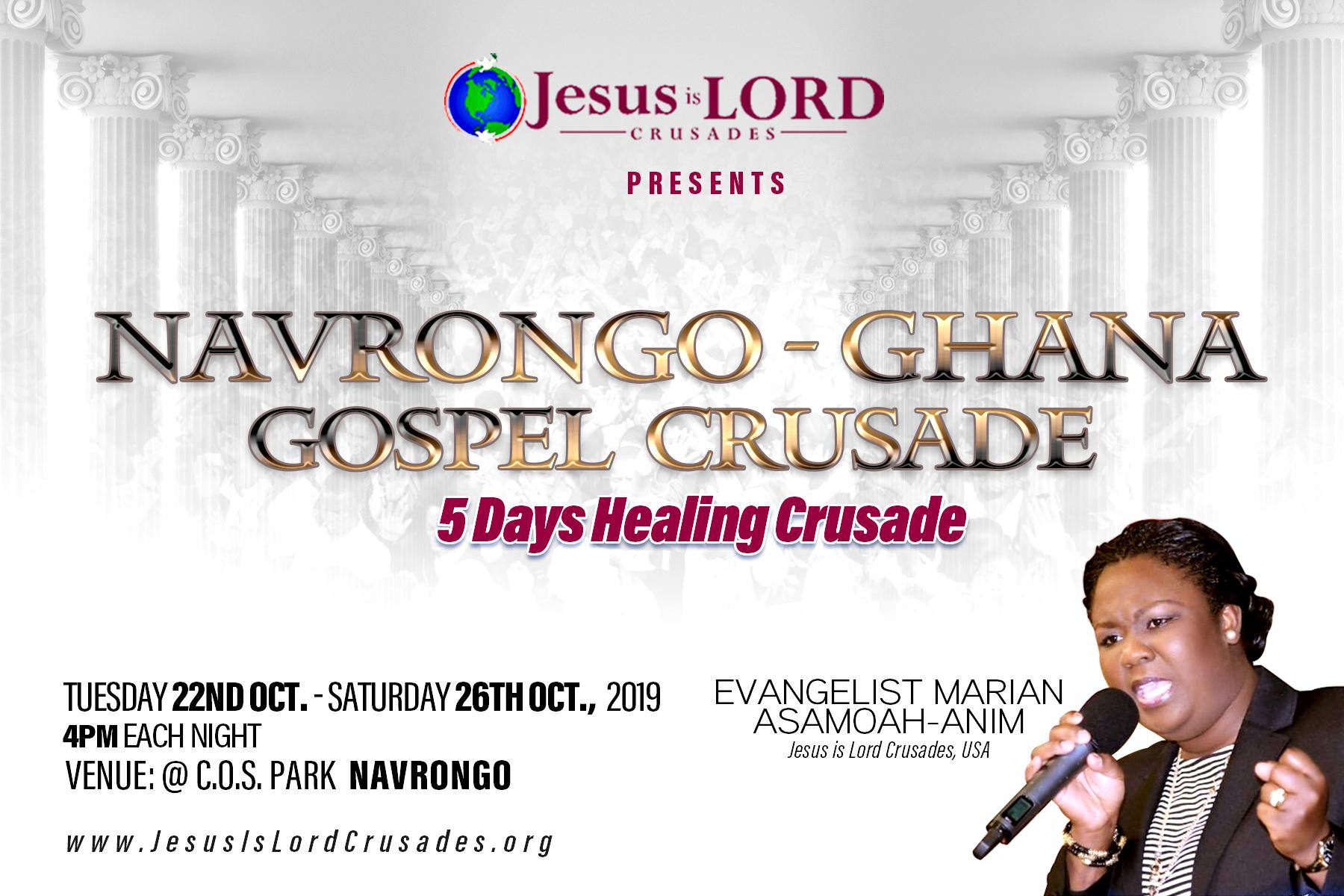 Jesus Is Lord Crusades : Home