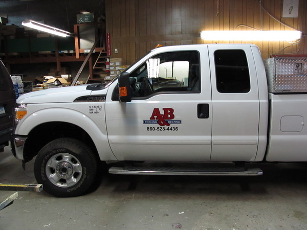 Fleet Graphics, Pickup Truck Door Lettering & Logo Graphics