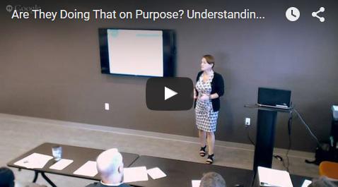 Understanding Behaviors - Video